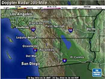 San Diego Traffic Report and Weather Conditions. Live Streaming ...